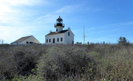 Old Point Loma Lighthouse by Paris Wolfe