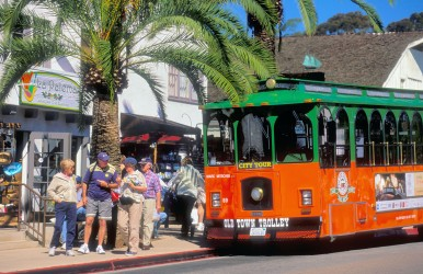 Old Town Trolley Stop -Courtesy Brett Shoaf Artistic Visuals