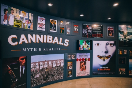 San Diego Museum of Man Cannibals