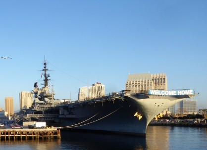 USS Midway by Paris Wolfe