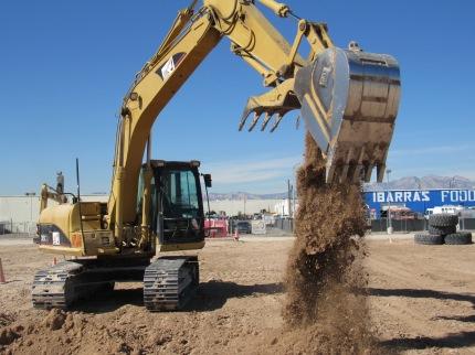 Digging hole